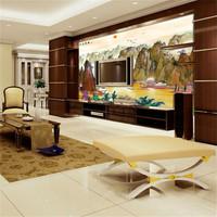 Traditional chinese painting mural wallpaper sofa tv wall