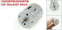 10000RPM/5000RPM 12V 50mA/6V 40mA High Torque Magnetic Electric DC Motor