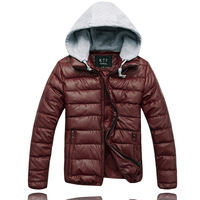 HOT SALE!!! 2013 New fashion Winter Jacket Man desinger brand casual warm overcoat outdoor men down coats 9 colors available