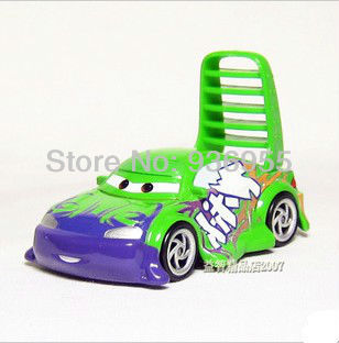 Free Shipping Pixar cars 2 Diecast WINGO Metal Toy Car Loose Racing toys for children 1:55(China (Mainland))