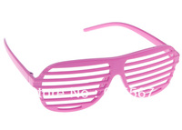 1 PC Pink Fashion Retro Vintage Men Women Casual Full Shutter Shades Sunglasses Wayfarer Trendy Popular
