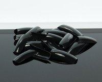 Free ShippingFreeshipping--10packs/lot 500 Black Color Nails tips False Nail Art Acrylic Nail Tips SKU:A0080X