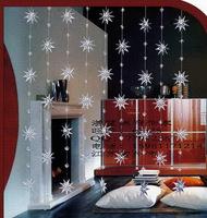 Shining acrylic crystal bead curtain partition entranceway decoration curtain romantic