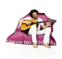 FREE SHIPPING 140*190CM bean bag sofa cover   bean bags luxury suede beanbag sofa cover bean bag factory retail and wholesale