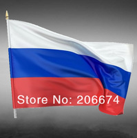New National Flag of Russia(150*90CM)+free shipping