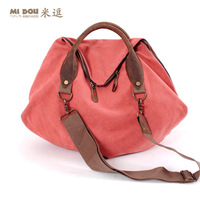 Free sipping Meters women's canvas handbag trend 2013 vintage large bag leather fashion trend of the bag