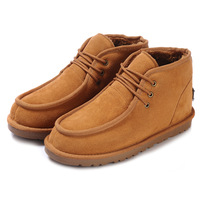 free shipping original Ivg men's boots 5866 male boots genuine leather men snow boots warm cotton-padded shoes