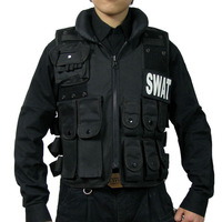 Wild casual outdoor clothing camouflage male swat vest cs