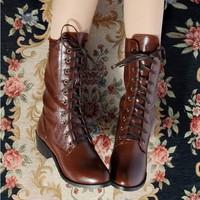 Fashion popular medium-leg platform boots martin boots large 1q-50-5