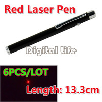 6PCS/LOT Newest Well Tested and High Quality Ultra Powerful Red Laser Pen Pointer Beam Light Laser Pointer Pen 9699