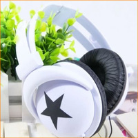 2013 New Hot Selling New Fashion Head phone Stereo Headset Earphone Foldable For DJ PSP MP3 MP4 Player PC 3.5mm