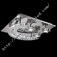 34W LED Crystal Ceiling Lights, Fashionable Design