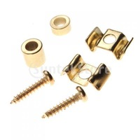 Free Shipping Guitar String Tree Guide Retainer Spacer Screw - Gold Plating