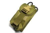 TMC Double mag pouch w Medical scissors holder ( khaki ) TMC0371