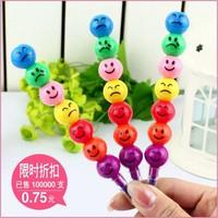 Korea stationery 7 crayon doodle pen pencil prize n14