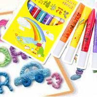 Korea stationery hot-selling popcorn pen magic bubble pen diy doodle pen
