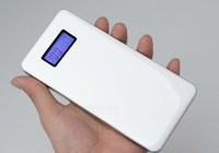 Dual USB outputs 12000 mah emergency mobile power