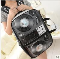 Radio   speakers school bag  casual handbag woman bag