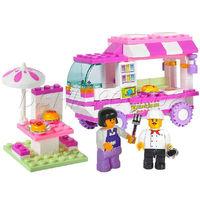Kid Children Building Block Snack Car Bricks DIY Toy Set Model 102PCS