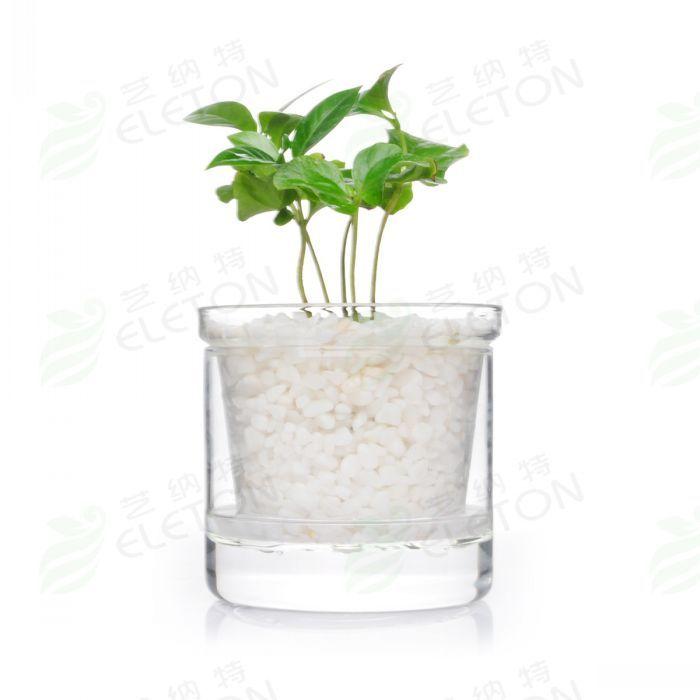 Layered Flower Pots Layer Glass Flower Pot