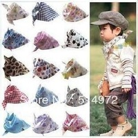 Best Selling!Baby bib 00% cotton Toddler Bandana Bibs Saliva Towel 10pcs/lot free shipping