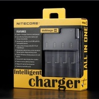 Free Shipping! NITECORE SYSMAX Version 2.0 Intellicharger i4 Battery Charger for 26650/22650/18650/17670/18490/17500 Battery