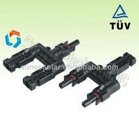 pv solar connector ,branch plug for solar energy system