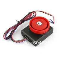 Free Shipping  New 1Pcs Black Red Motorcycle Safety Security Vibration Sensor Alarm Anti-theft Remote Control gl101