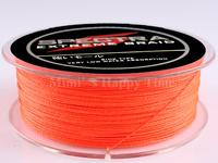 PE Dyneema Braided Fishing Line 100M Orange 100LB 0.55mm 109 Yard Spectra Braid