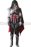 Assassin creed Costume Cosplay Ezio Custom Made Assassin's Creed III Genuine High quality Costumes
