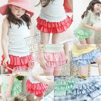 2013 summer wave girls clothing baby child short skorts trousers kz-0813