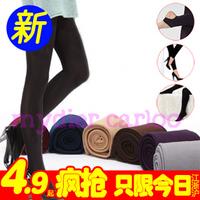 Winter thickening women's plus velvet autumn plus size pants warm ankle length trousers female autumn legging