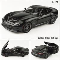 Maisto 1:24 Dodge viper Gts exquisite alloy alloy car model roadster toys model free air mail