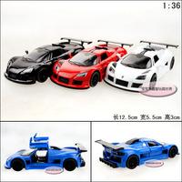 1:36 KINSMART Gumpert  Apollo class sports car alloy car model toy free air mail