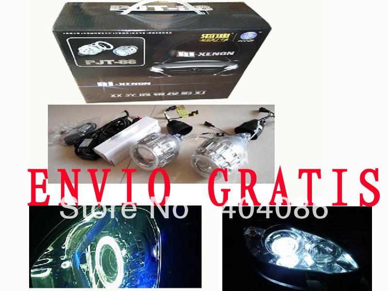 ENVIO GRATIS!G8 Bi xenon HID Kit Xenon Proyector Lente H1 H4 H7 9005 9006+Angel Ojo+Garantia 24 Meses/Top calidad!(China (Mainland))