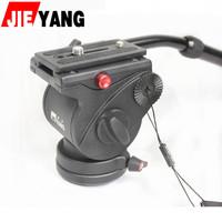 Monopod rotating jy0506 Upgrade rotation Hydraulic damping camera haeundae damping Slippery  cradle head /holderslide