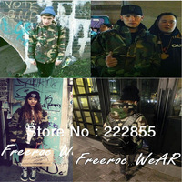 Autumn Male Jacket Brand Outerwear Men's Clothing Camouflage With a Hood Zipper Sweater Dishabille Camouflage 0952-3