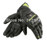 2013 Original GUANTO 4 STROKE motorbike gloves Motorcycle gloves Motocross Racing gloves Genuine Leather 2 Color M L XL