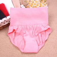 Free shpipin 2013 high waist abdomen drawing 100% cotton panties female waist postpartum support panties  underwear women