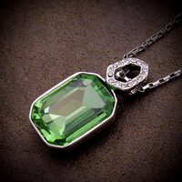 2013 new arrival free shipping Austrian crystal pendant necklace short section of the clavicle