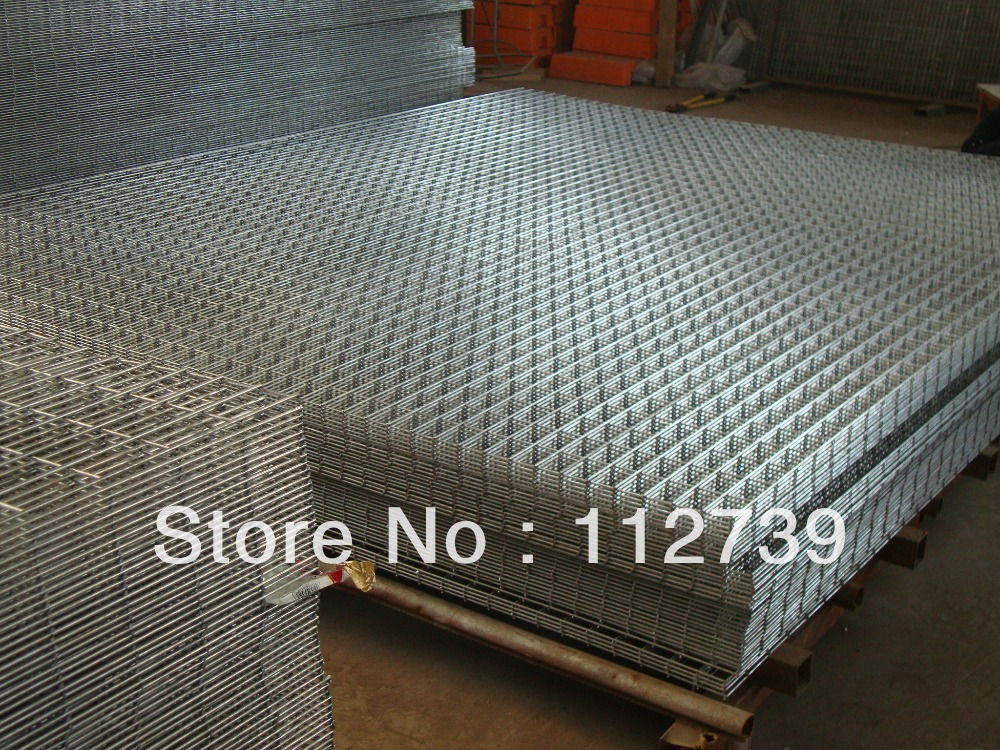 Welded Wire Mesh Panel,100*100mm Opening, Panel Size 1.8*2m,Iron Wire, Hot-dipped Or Electro Galvanized Wire Appearance(China (Mainland))
