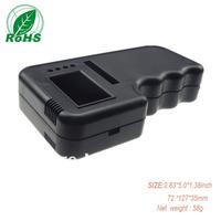 XD  plastic box black XDH03-10 plastic handheld enclosure 72*127*35mm  2.83*5.0*1.38inch