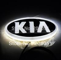 KIA Forte Cerato 4D Badge LED Logo Light Add-on Car Auto Led Emblem front Lamp