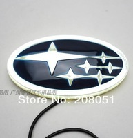 SUBARU FORESTER Legacy logo light 4D led rear Emblems lighting  LED light, led logo Car Stickercar badge car Emblems