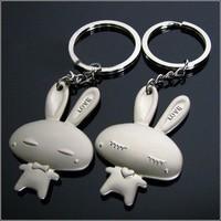 Wedding supplies cartoon series keychain couple key chain birthday wedding present a pair of gift