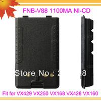 10pcs/lot DHL freeshipping FNB-V88 for VX429 VX250 VX168 VX428 VX160 1100mAh NI-CD walkie talkie battery pack