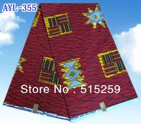 Hot sale in Nigeria Dutch style cotton printing wax fabric