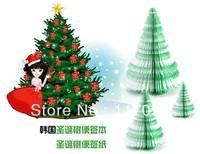 Christmas Novelty gifts, Christmas tree notepad, Memo Pad, Paper note Notepad,free Shipping