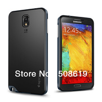10pcs/l Spigen SGP NEO Hybrid TPU+PC Hybrid Shockproof Case For Samsung Galaxy Note 3 N9000 With Retail Box 5 Colors Freeship