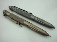 BROWN LAIX B2 Multifunctional Tactical Pen Defense Survival tools Portable Survival aluminum Pen camping tool impact glass